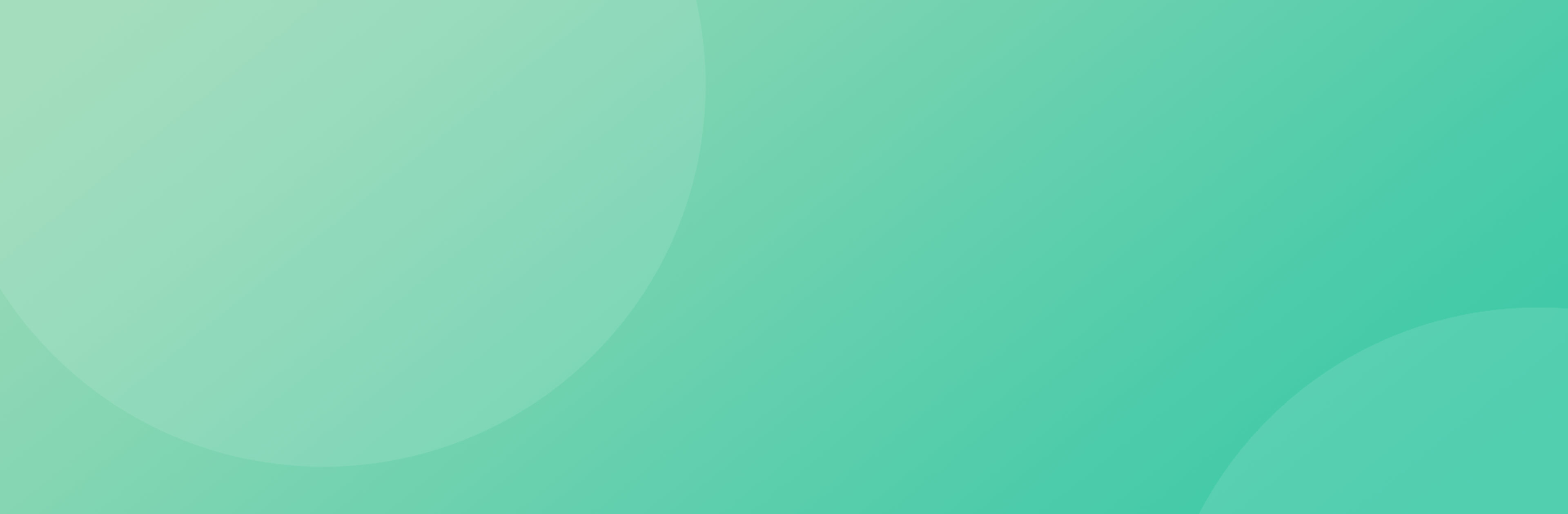 Green background with faint two circles on either side